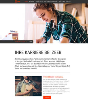 ZEEB-Karrierewebsite